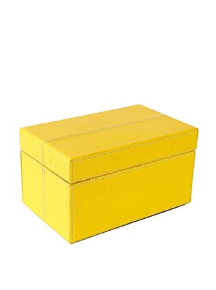 Nava Design Box Saffiano (Giallo)