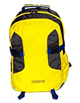 American Tourister Laptop Backpack - Buzz 05 -Yellow
