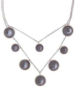 Utoqia Collar Hematite / Cristal Roca