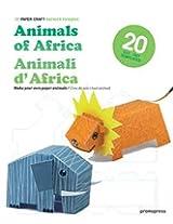 3D Paper Craft: Animals of Africa