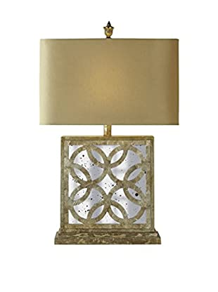 Couture Montecito Table Lamp, Opulent Silver