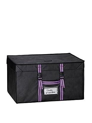 Compactor Caja Con Funda De Ahorro Espacio Family 150 L Negro