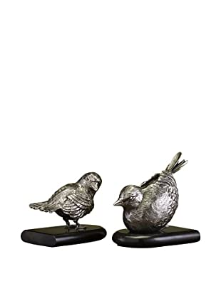 John-Richard Collection Set of 2 Bird Bookends