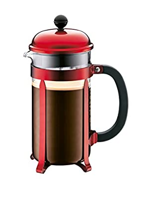 Bodum Chambord 51-Oz. Coffee Maker, Red