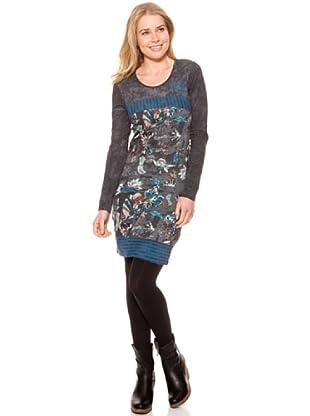 SideCar Kleid Design (Grau)