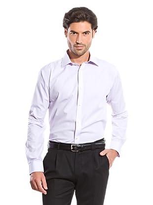 Cortefiel Camisa Liso (Violeta)