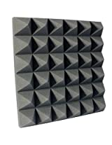 Acoustic Room Treatment Foam - Wedge Shape, Pyramid Shape