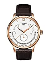Tissot Brown Leather Chronograph Men Watch T063 637 36 037 00