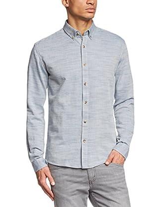 Selected Homme Camisa Hombre Linyi (Azul Claro)