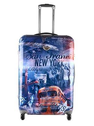 American Revival Trolley New York Bus Mediano (Multicolor)