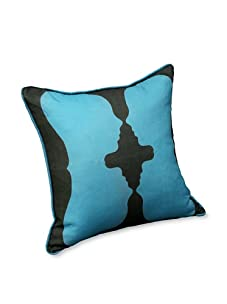 AphroChic Reflection Pillow (Blue/Black)