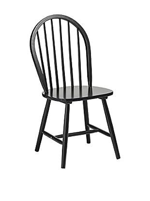 Premier Houseware  Stuhl 4er Set 2404053 schwarz