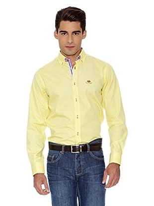 La Española Camisa Fitted (Amarillo)