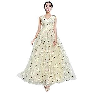 OnlyUrs Sweet Floral Chiffon Maxi Dress For Women