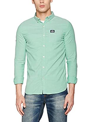 Superdry Camicia Uomo Bay View Button Down