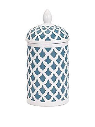 Dolce Small Ceramic Canister, Blue