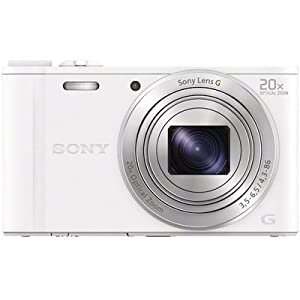 Sony DSC-WX350 18.2 MP Point & Shoot Camera (White)