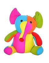 Twisha Lycra Elephant Multi 9 X 7 X 12 Inch