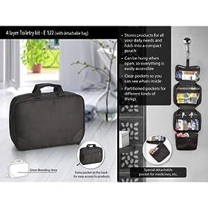 AAA 4 Layer Toiletry Kit
