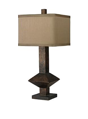 HGTV Home Bronze Mid-Century Inspired Table Lamp