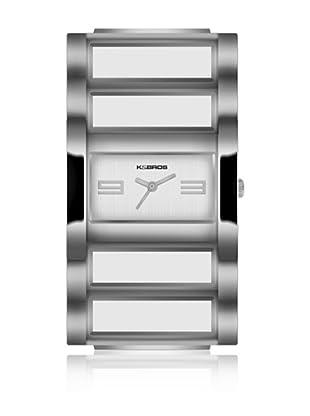 K&Bros  Reloj 9163 (Plateado)