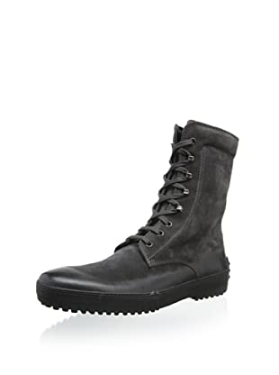 Tod's Men's Lace-Up Boot (Charcoal)