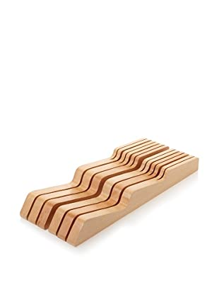 MIU France Beechwood In-Drawer 11-Slot Knife Tray (Beige)