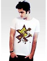 Incynk Men's T-Shirt - MSS128 (White)