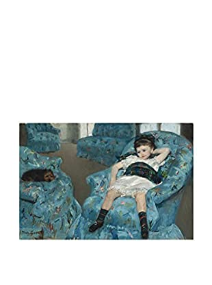 Legendarte Lienzo Mary Cassatt - Ragazzina In Poltrona Blu