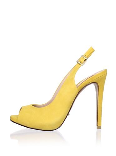 Schutz Women's High Heel Sling (True Yellow)