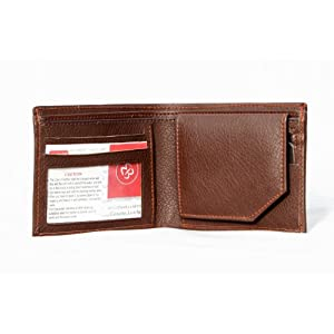 Men's Wallet Leather Brown