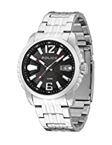 Police Analog Black Dial Men's Watch - PL13896JS/02M