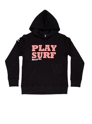 El Niño Sudadera Play Surf (negro)
