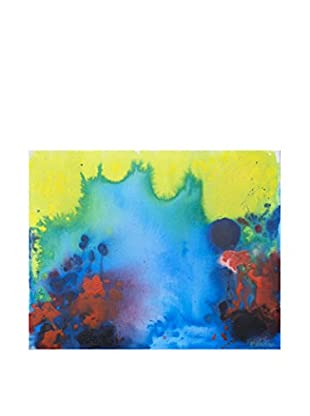"""Claire Desjardins """"All The Noise"""" Embellished Giclée Print"""