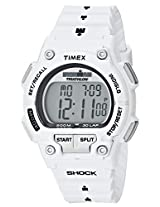 Timex Men's T5K429 IRONMAN 30-Lap Shock White Case and Resin Strap Sports Watch