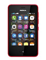 Nokia Asha 501 Smartphone-Bright Red