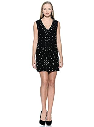 French Connection Vestido Beading