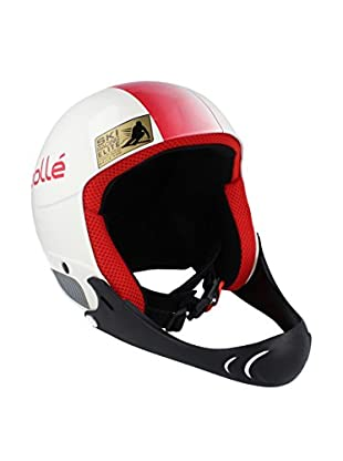 BOLLE Casco de Esquí Profile Blanco / Rojo