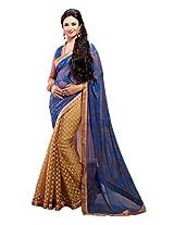 Cenizas Embellished Georgette Sari