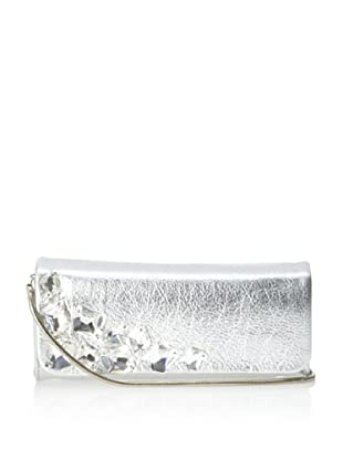 Inge Christopher Women's Vegas Clutch (Silver)