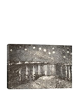 Starry Night Over The Rhone IV Gallery Wrapped Canvas Print