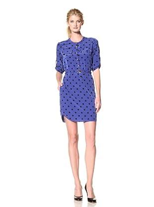 Yoana Baraschi Women's Blind Spot Shirt Dress (X Blue)