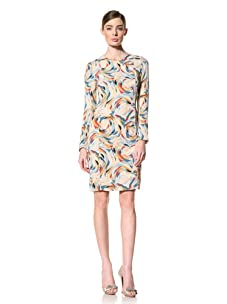 Doo.Ri Women's Sonia Long Sleeve Dress (Multicolored)