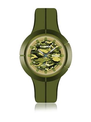 K&BROS Reloj 9573 (Verde)