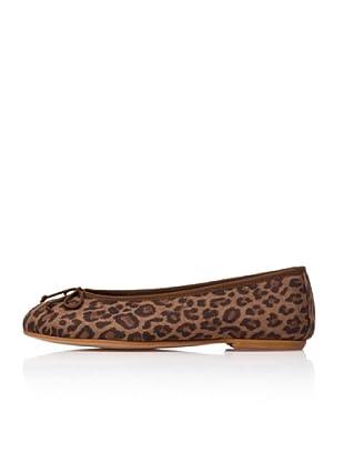 Bisue Bailarinas Leopardo (Marrón)
