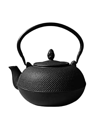 Old Dutch International Cast Iron 101-Oz. Hakone Teapot/Wood Stove Humidifier, Matte Black