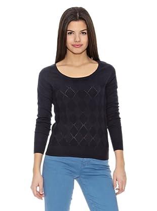 Springfield Jersey Bs-Rhombus Sweater (Azul Marino)
