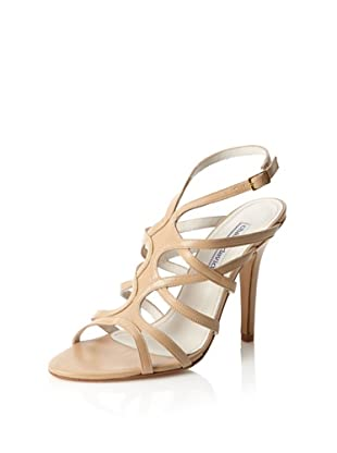 Charles David Women's Disco Evening Sandal (Camel Leather)