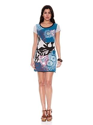 HHG Vestido Courtney (Azul / Gris)