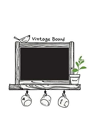 LO+DEMODA Selbstklebende Tafel Vintage Board